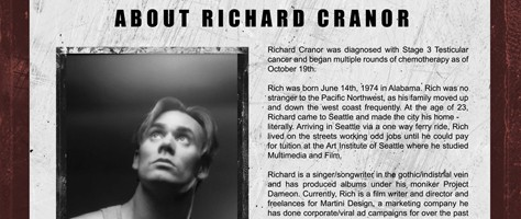 Oh's Industrial Strength Rock n' Roll Cancer Auction for Richard Cranor